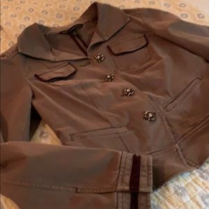Officer jacket/coat with button bling